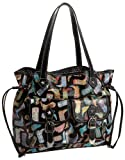 Sydney Love Cowboy Boot Front Pocket Tote,Multi,one size, Bags Central