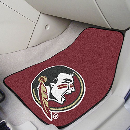 Florida State University Carpet (2-pc Carpet Car Mat Set Florida State University 17