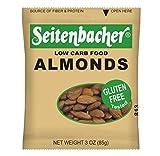 Seitenbacher Raw Almonds, Unsalted, 3 Ounce