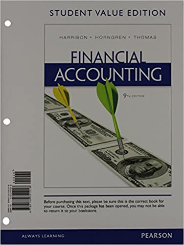 Financial accounting student value edition plus new myaccountinglab financial accounting student value edition plus new myaccountinglab with pearson etext access card package 9th edition 9th edition fandeluxe Gallery