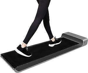 CffdoiPBJI Folding Ttreadmill, Folding Walking Machine, Home Treadmill, Silent Small Smart Walking Machine