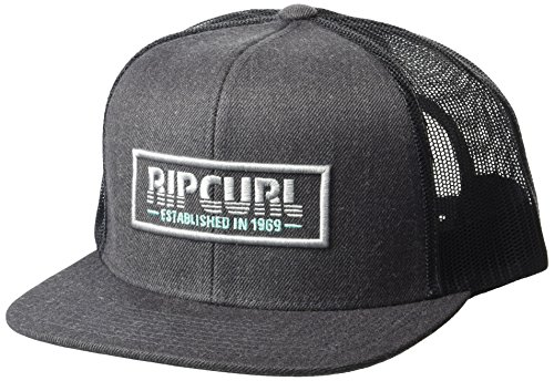 Rip Curl Men's Pump Trucker Hat, Charcoal (Cha), (Logos Rip Curl)