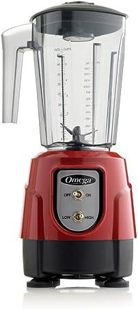 Omega BL330 1-HP licuadora, 48-ounce Tritan para lavavajillas ...