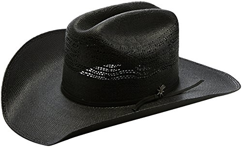 Bailey Western Men's Desert Night Western Cowboy Hat, Black, - Western Bailey Hats