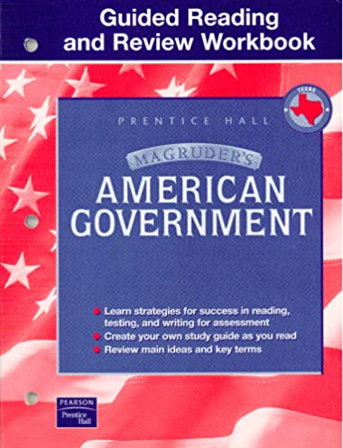 magruder s american government guided reading and review workbook rh amazon com Reading Worksheets magruder american government guided reading and review workbook teacher edition