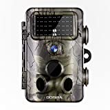nature camera - Gosira Motion Activated Trail Camera Fastest 0.4S Trigger 1080P HD Night Vision Latest 940nm No Flash Infrared LED Deer Hunting 12MP Wide Sensor Detection Wildlife Monitor Nature Game Cam Outdoor