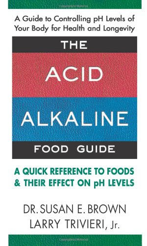 Food Alkaline (The Acid-Alkaline Food Guide: A Quick Reference to Foods & Their Effect on pH Levels)