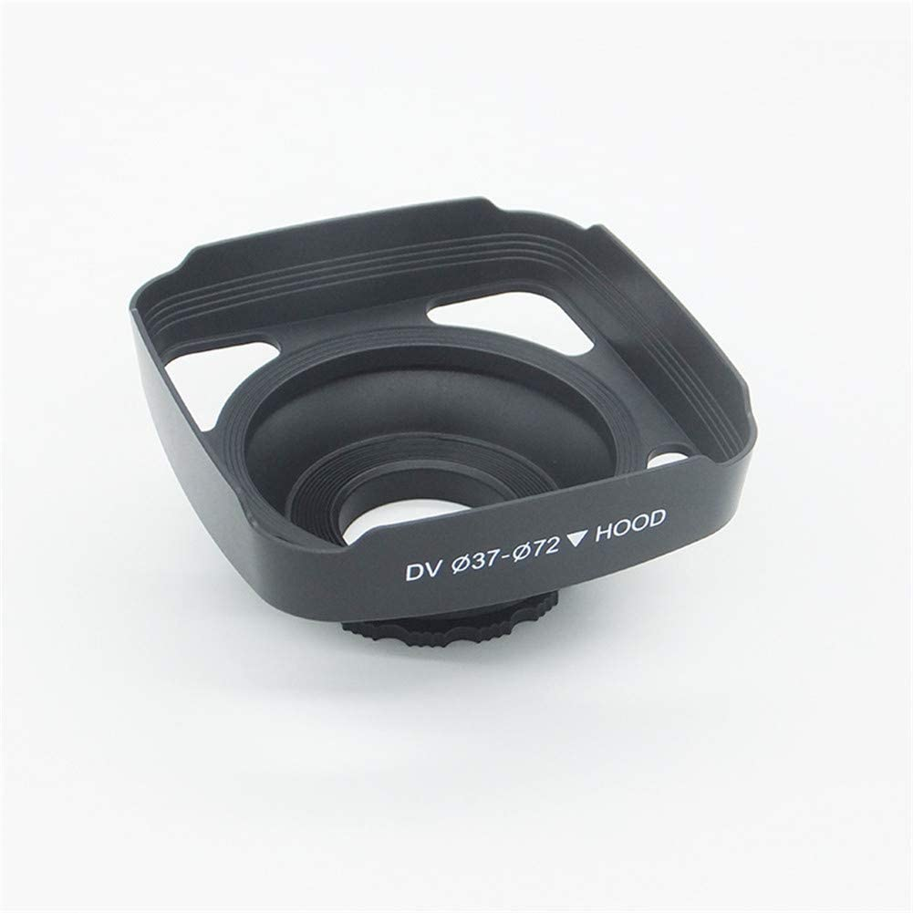 72mm DV Camera Accessories Rumfo Lens Hood for 37mm