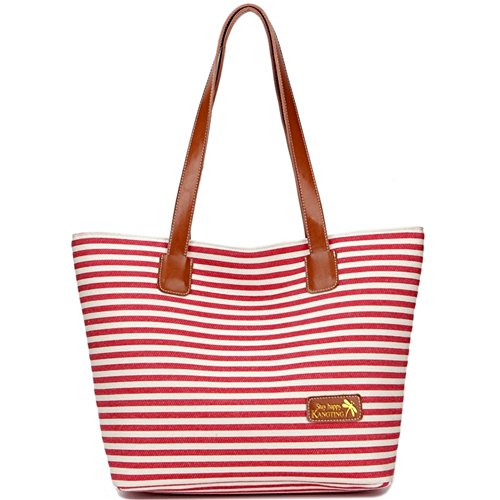 Wedding Old Style Wrappers (Minkoffo 2016 Korean Version Of Casual Canvas Handbags Striped Shoulder Bag(C1))