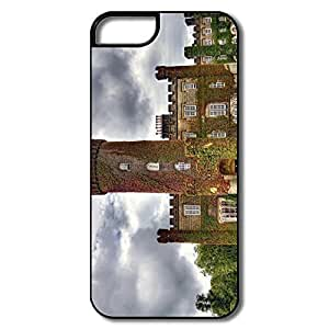 Fashion Swinton Castle England Plastic Case Cover For IPhone 5/5s