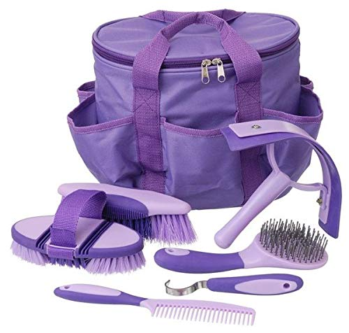 Tough-1 Great Grips 6 Piece Brush Set with Bag Pur