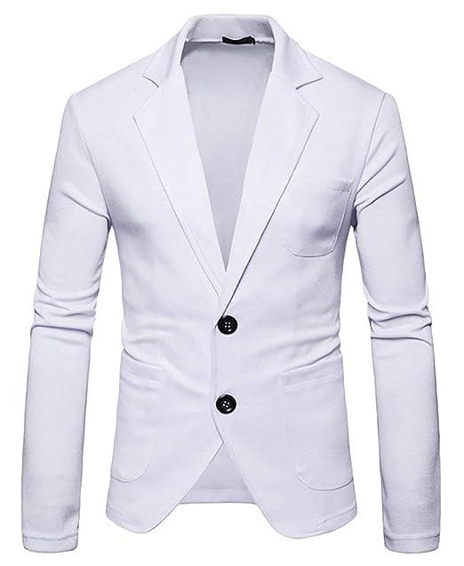 rivenditore online d00c4 d3732 Targogo Blazer da Uomo Elegante Blazer da Cerimonia Nuziale Tuxedo ...