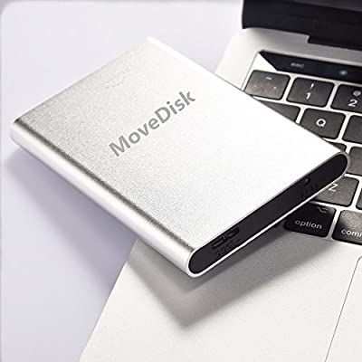 1TB Portable Silver External Hard Drive USB 2.0 Hard Disk Storage Devices For Desktop Laptop from MoveDisk