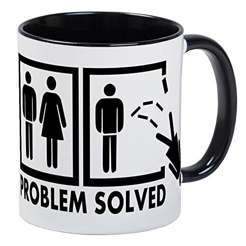 CafePress Problem Solved - Woman Mug Unique Coffee Mug, Coffee Cup