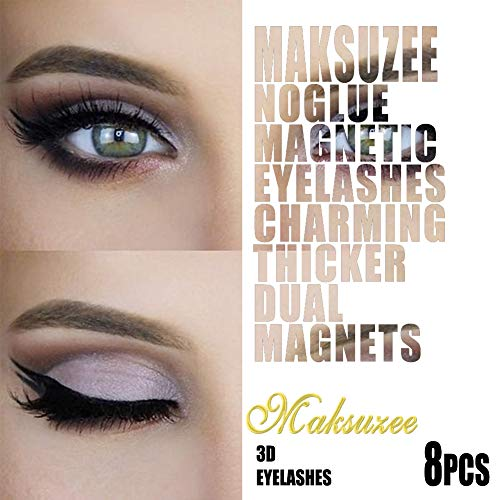 66f06c20615 Maksuzee Eyelash Growth Serum 0.17FlOz Pure Natural Formula Promote  Eyelash&Brow Growth Longer Thicker Healthier