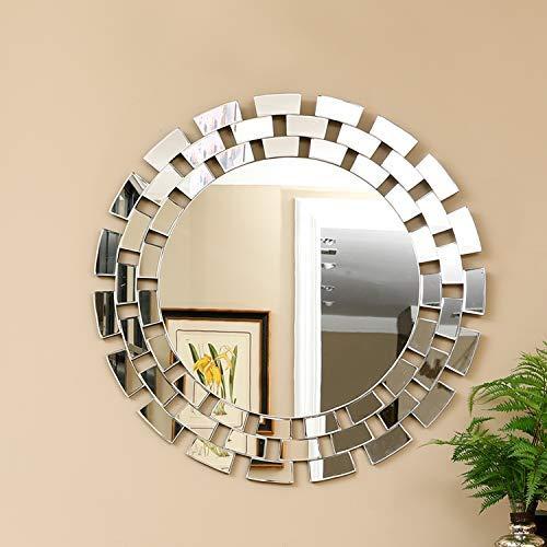 KOHROS Large Antique Wall Mirror Ornate Glass Framed Venetian Decor Mirror Bedroom,Bathroom, -