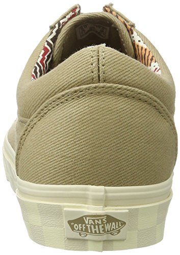 Skool Cornstalk UA Twill DX Homme Sneakers Old Beige Basses Vans xSvwg