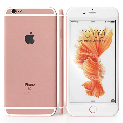 Apple iPhone 6s, Boost Mobile, 32GB - Rose Gold (Renewed)