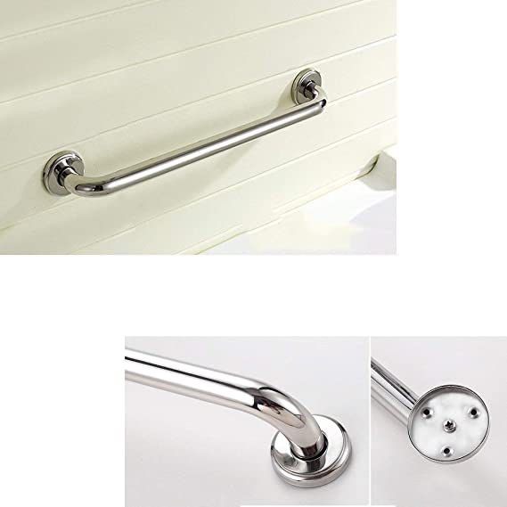 Stainless Steel Grab Bar, Grab Rails,elderly Pregnant Women with Disabilities, Safety Non-slip Barrier-free Bathroom Handrail, for Bathtub, Toilet, ...