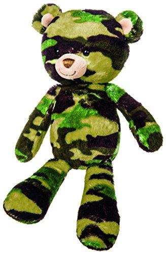 Mary Meyer Green Camo Bear Plush Toy, ()