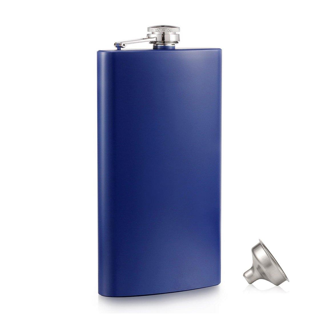 公式の  menghao 18/8ステンレススチールFlasks – withフリーポケットSliverヒップフラスコ漏斗 ブルー 12 OZ ブルー 12 Blue – B07DB35VN4, 扇子司 伊藤常:88382eda --- vezam.lt