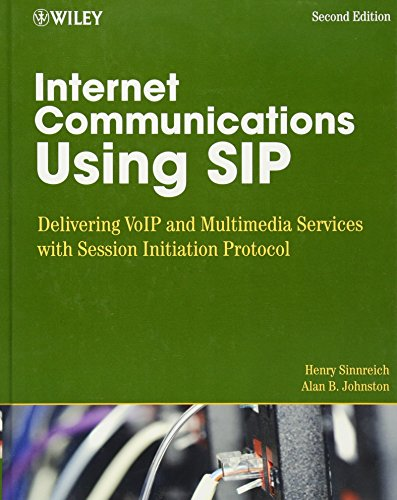 - Internet Communications Using SIP: Delivering VoIP and Multimedia Services with Session Initiation Protocol