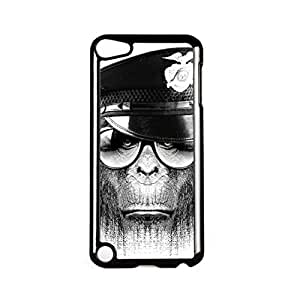 Monkey Authority Black Hard Plastic Case for Apple? iPod Touch 5th Gen by Gangtoyz + FREE Crystal Clear Screen ProtectorKimberly Kurzendoerfer