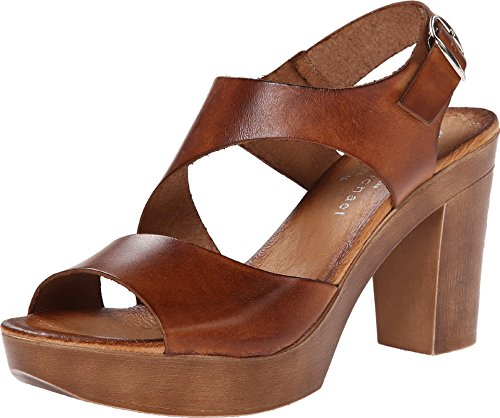 Eric Michael Women's Ginger Brown Platform 37 (US Women's 6.5-7) M (B)