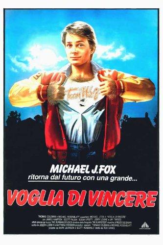 Teen Wolf Movie Poster (27 x 40 Inches - 69cm x 102cm) (1985) Italian -(Michael J. Fox)(James Hampton)(Scott Paulin)(Susan Ursitti) ()