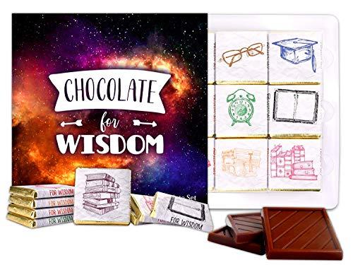 DA CHOCOLATE Candy Souvenir CHOCOLATE FOR WISDOM Chocolate Set 5x5