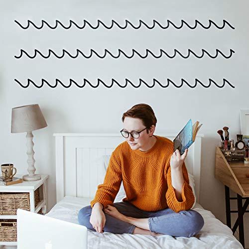 Ocean Decal Set - Set of 3 Vinyl Wall Art Decals - Waves - 2