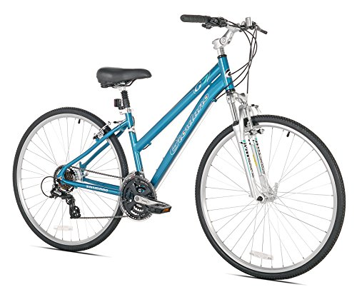 Giordano G7 Women's Hybrid Bike, One Size/17
