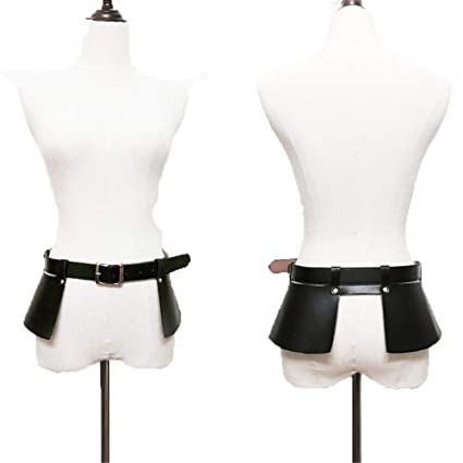 Cinturón de la mujer de las señoras Mujeres Punk gótico ...