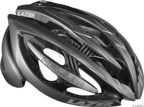Lazer Helium Helmet: Black/Matte Gray; MD Review