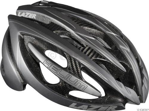 Lazer Helium Helmet: Black/Matte Gray; MD