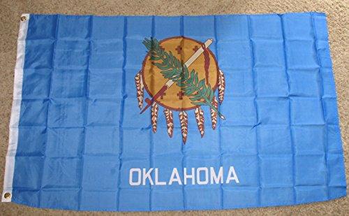 3x5 Oklahoma Flag 3' x 5' State Banner Polyester OK