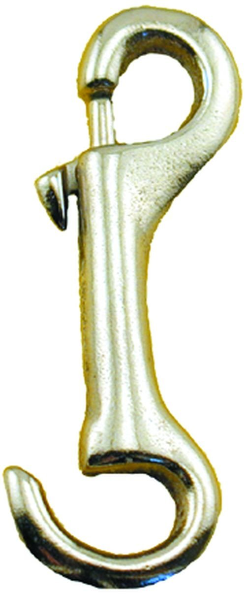 Enkay 492-C 3 1/4-Inch Snap Hook, Open Eye, Nickel Plated