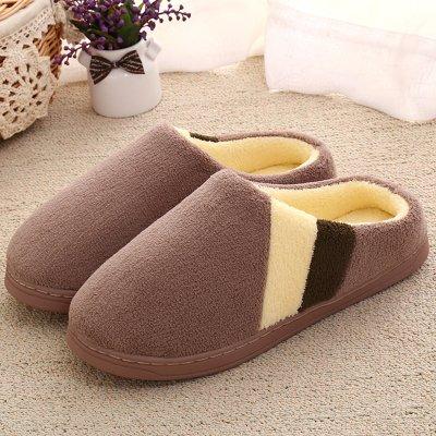 Inverno habuji pantofole di cotone di uomini e donne più calda non-slip piscina semi-pantofole con spesse pantofole invernali 41-42, A-