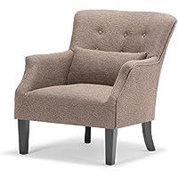 Simpli Home Erril Club Chair, Java
