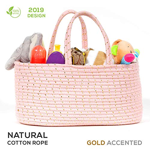 diaper organizer pink and gold buyer's guide