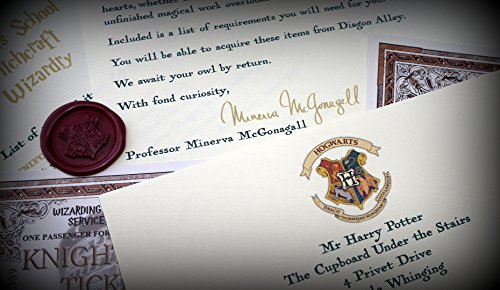 Harry Potter School Acceptance Letter Gift Pack Personalized with Any Name and Address by planetsforsale (Image #4)
