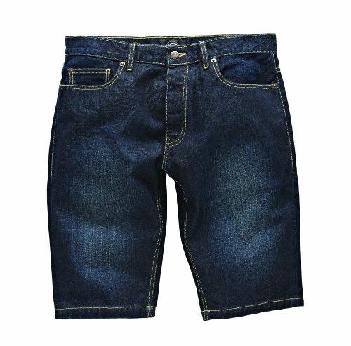 01 Sportivi Dickies Blu Wash vintage pantaloncini Uomo 240006 4qB6xwvd