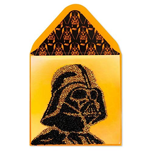 Star Wars Darth Vader Happy Halloween Join The Dark Side Beads Card Greeting Halloween Card -