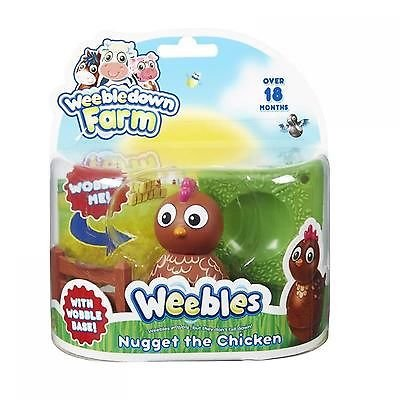 Weebledown Farm Weebles - Nugget the Chicken Weeble Character