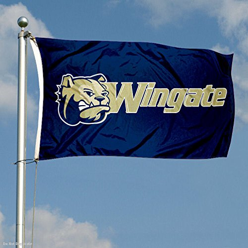 College Flags and Banners Co Wingate Bulldogs Flag