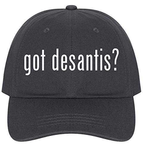 The Town Butler got Desantis? - A Nice Comfortable Adjustable Dad Hat Cap, Dark Grey