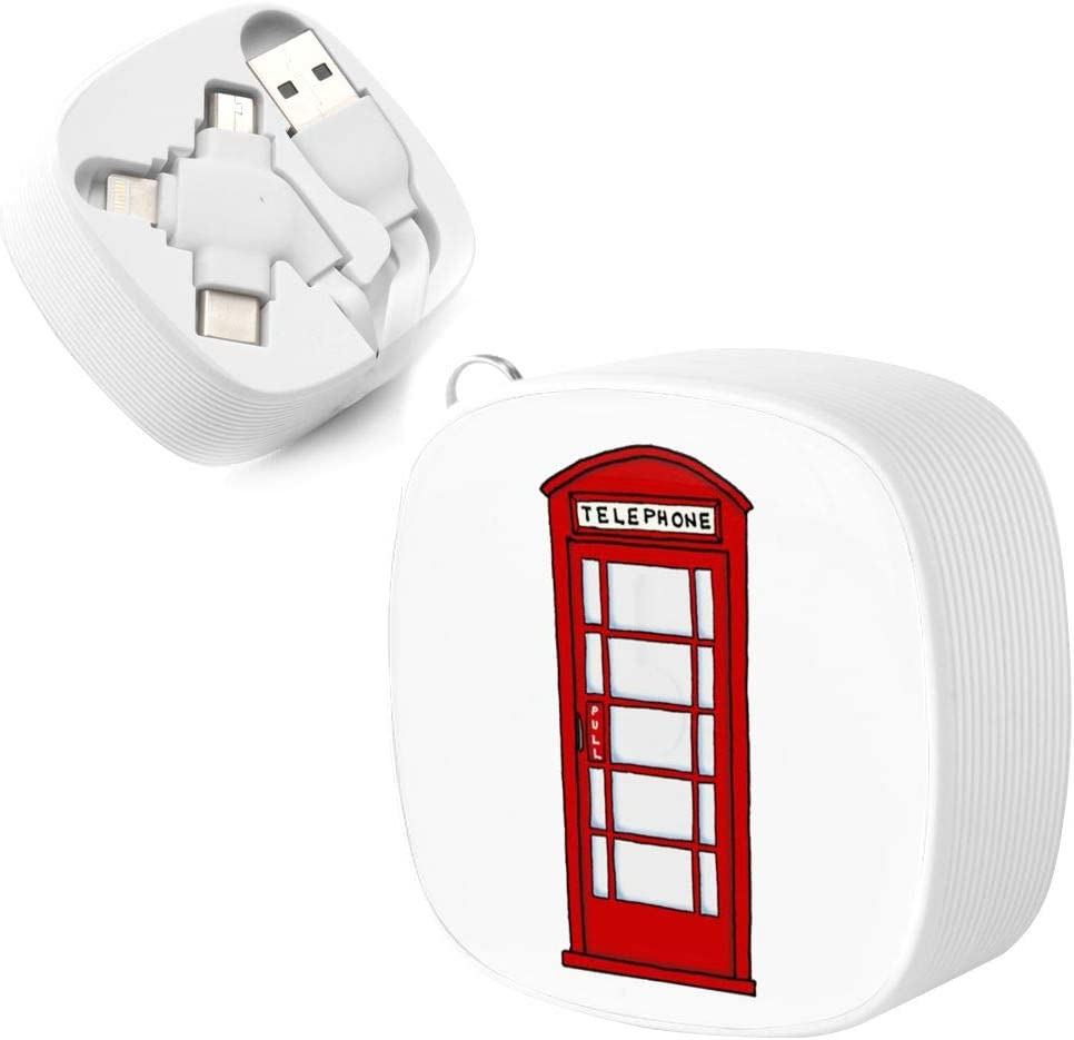 Telephone Booth Suitable for Any Mobile Phone Three in One Data Line