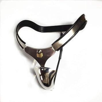 Cinturón de castidad de acero inoxidable Ropa interior BDSM ...