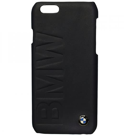 cheap for discount a4736 0e3ea BMW Signature Collection Hard Case Debossed Logo for iPhone 6 Plus/6S Plus  - Black