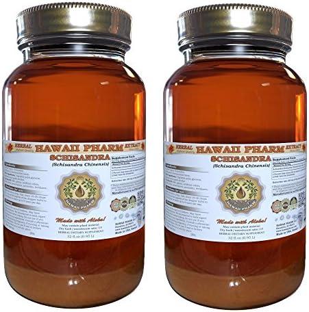Schisandra Liquid Extract, Organic Schisandra Schisandra Chinensis Tincture 2×32 oz